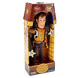 Кукла Говорящий Ковбой Вуди, История Игрушек / Woody Talking Figure 40 см, фото 2