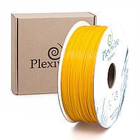 Пластик в котушці ABS+ 1,75 мм 1кг/400 м, Plexiwire, Жовтий