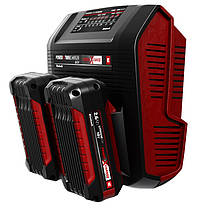 (Power X-Change) Зарядное устройство Einhell 18V Power-X-Twincharger 3 A  (4512069), фото 3