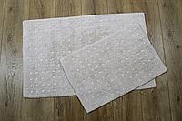 Набор ковриков Irya - Esta bej бежевый 40*60+55*85