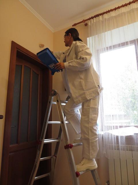 Комплект куртка и комбинезон белые, для внутренних работ Wurth