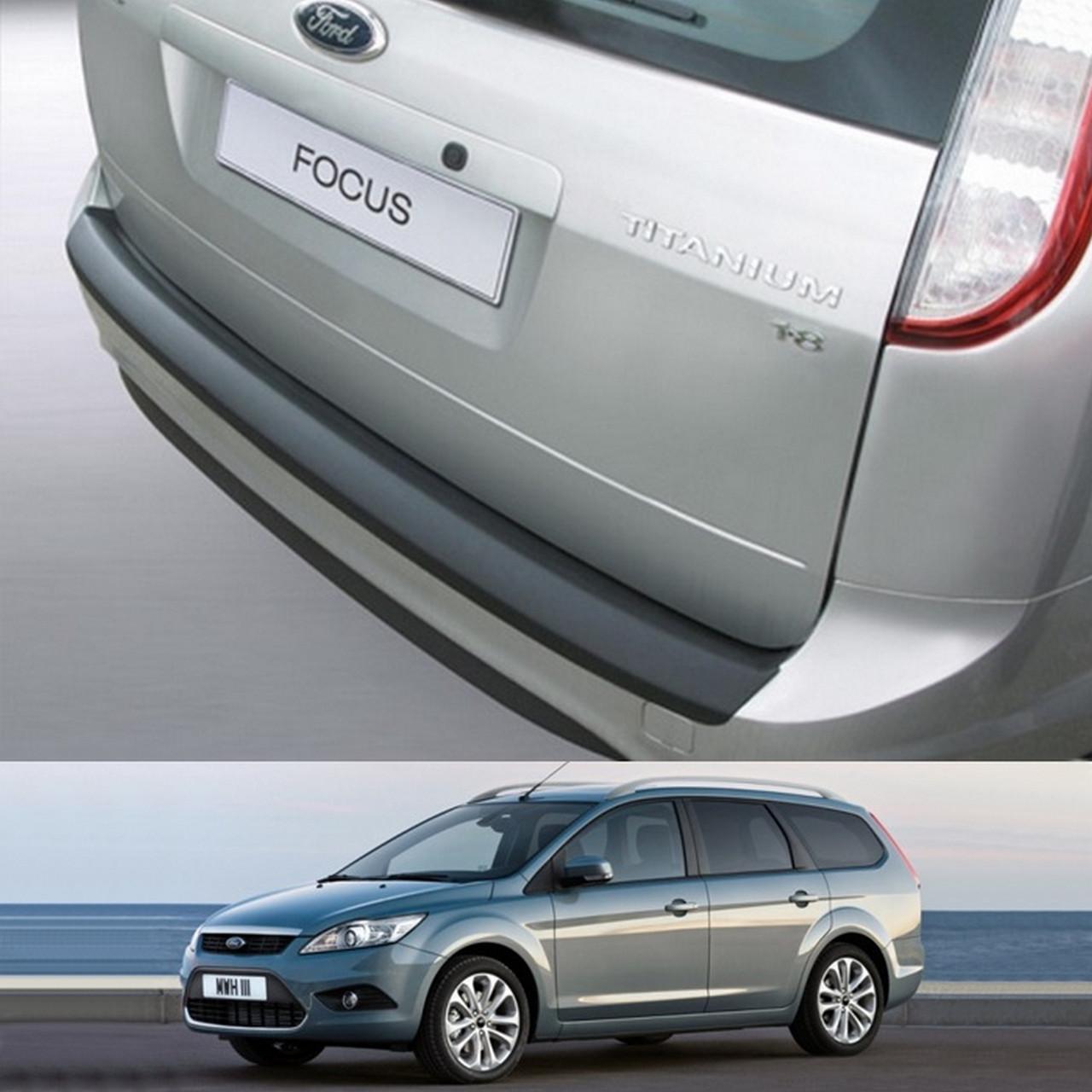 Ford Focus Turnier 2007-2011 пластиковая накладка заднего бампера