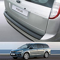 Ford Focus Turnier 2007-2011 пластиковая накладка заднего бампера , фото 1