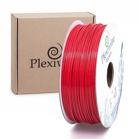 Пластик в котушці PETG 1,2 кг/400 м, Plexiwire, Червоний, фото 2