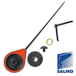 Вудка-балалайка зимова з підставкою  Salmo Sport (червона) 24см