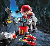 Игровой набор Рок-бластер со щебнем, Playmobil (9092)