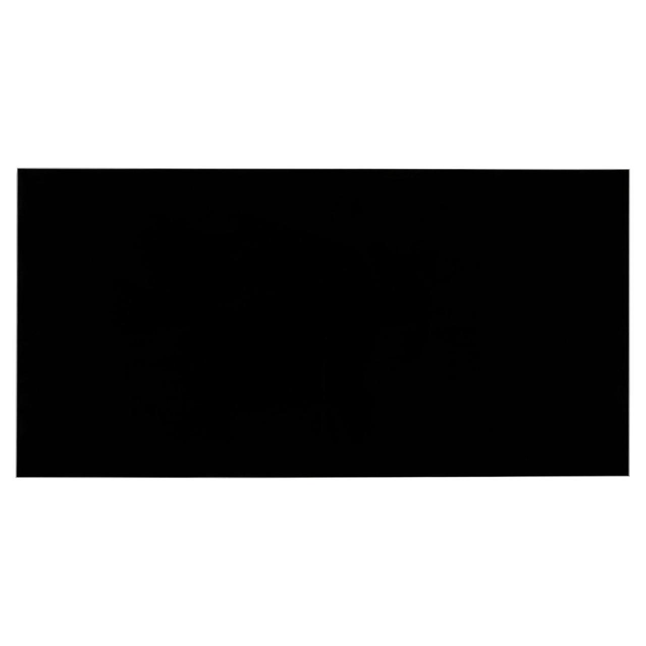Скляний інфрачервоний обігрівач SUN WAY SWG-1000 RA black (з терморегулятором, чорний)