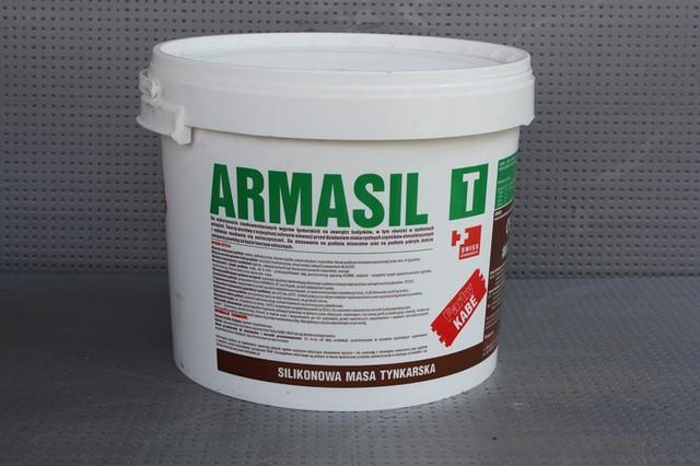 Силіконова фасадна штукатурка ARMASIL T (25 кг)