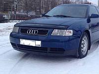 Дефлектор капота (мухобойка) AUDI A3 (кузов 8L) с 1996-2003 г.в., фото 1