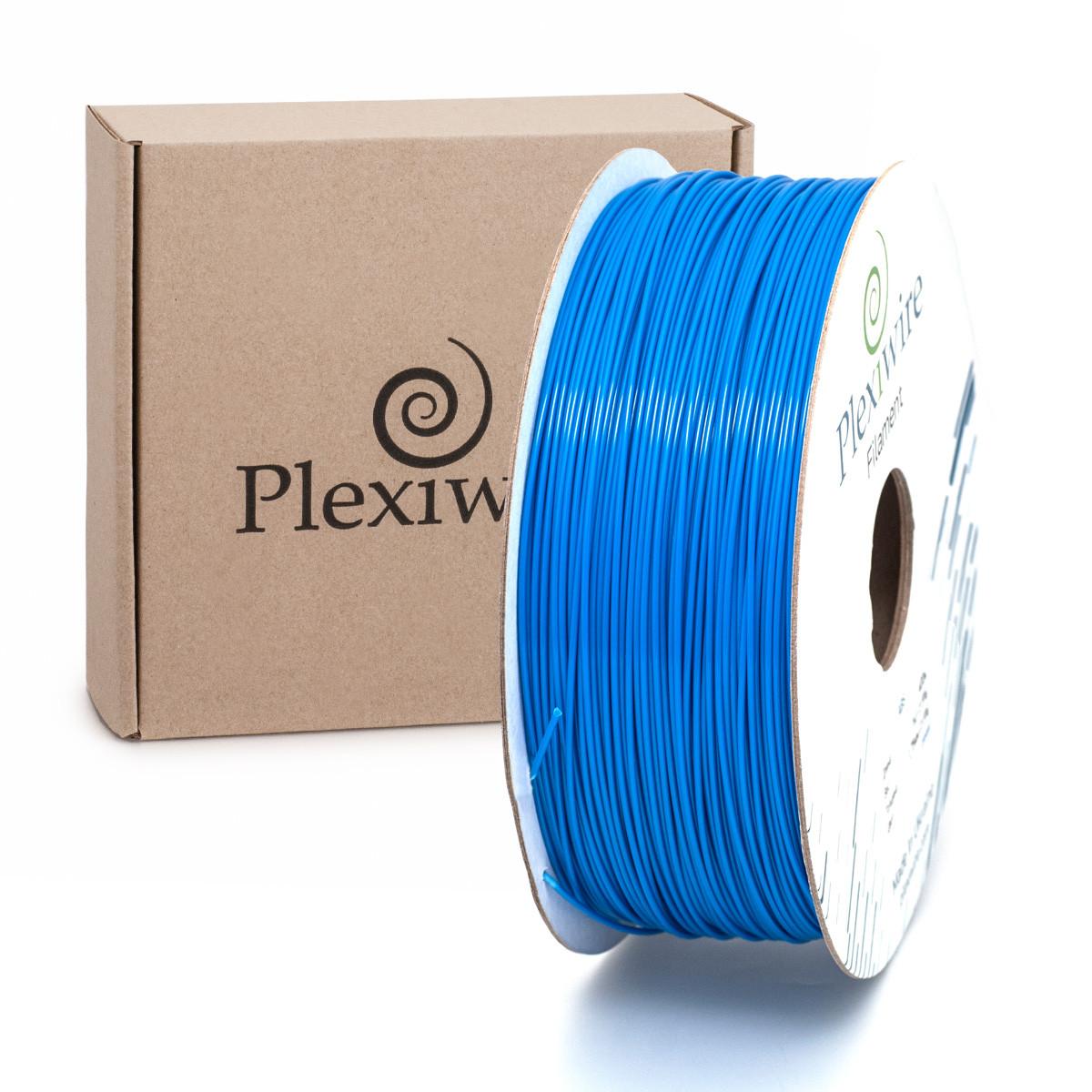 Пластик в котушці PETG 1,2 кг/400 м, Plexiwire, Синій