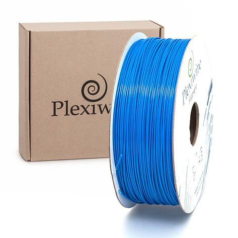 Пластик в котушці PETG 1,2 кг/400 м, Plexiwire, Синій, фото 2