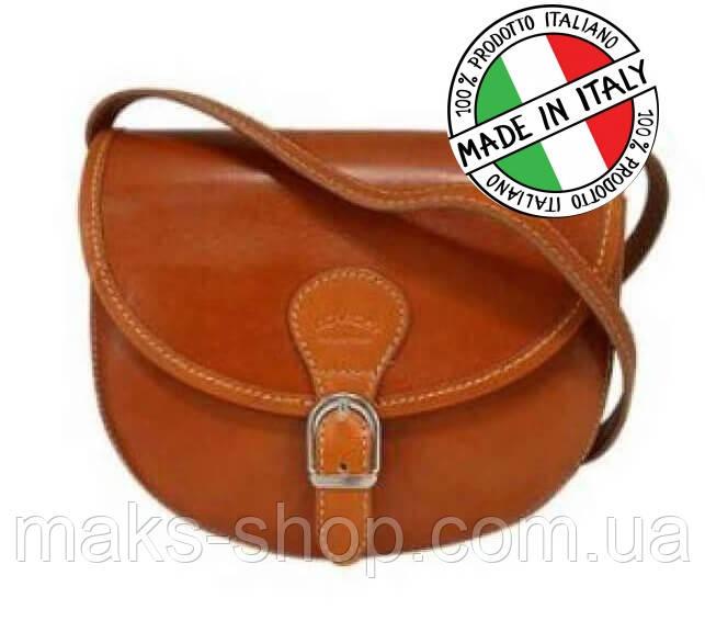 7cd5736d24c4 Итальянская женская маленькая сумка из натуральной кожи коричневый - Maks  Shop- надежный и перспективный интернет