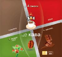 "Кофейный напиток ЦЕ КАВА 3 в 1 ""АСОРТІ"" 20п."