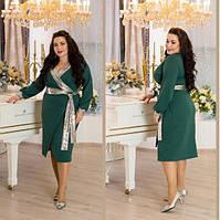 Елегантне плаття прикрашене пайеткой, з 48 по 82 розмір, фото 1
