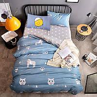 """Комплект постельного белья """"Горилла"""" (двуспальный-евро), фото 1"""
