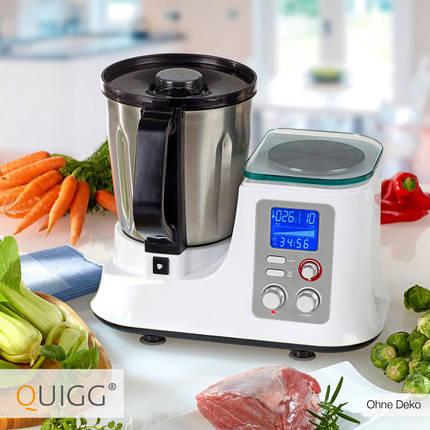 Кухонний комбайн з функцією приготування їжі QUIGG, фото 2