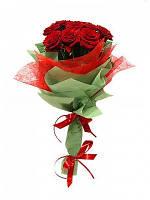 """Миниатюрный букет роз """"Рубин"""""""