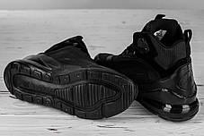 Мужские ботинки Nike черные топ реплика, фото 3