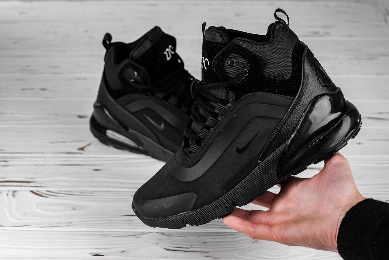 Мужские ботинки Nike черные топ реплика