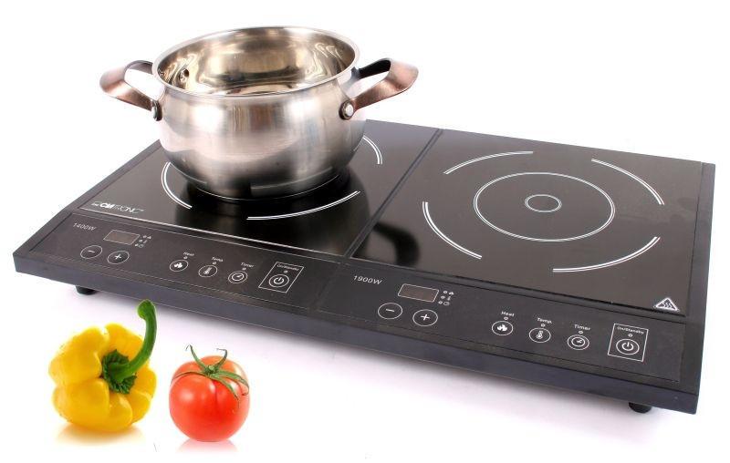 Двойная индукционная плита Clatronik  3300 W