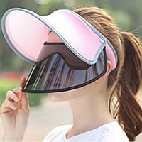 Женское Лето На открытом воздухе Солнцезащитный козырек Шапка Двойной слой защитной защиты от ультрафиолетового излучения Шапка 1TopShop