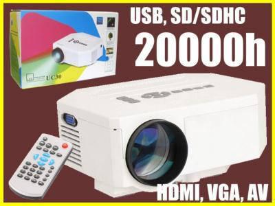 LED проектор HDMI VGA !! СУПЕРЦІНА!!, фото 2