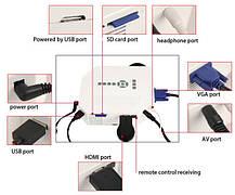 LED проектор HDMI VGA !! СУПЕРЦІНА!!, фото 3