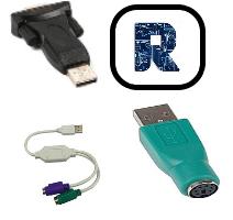 Переходники с USB для копмьютерной техники