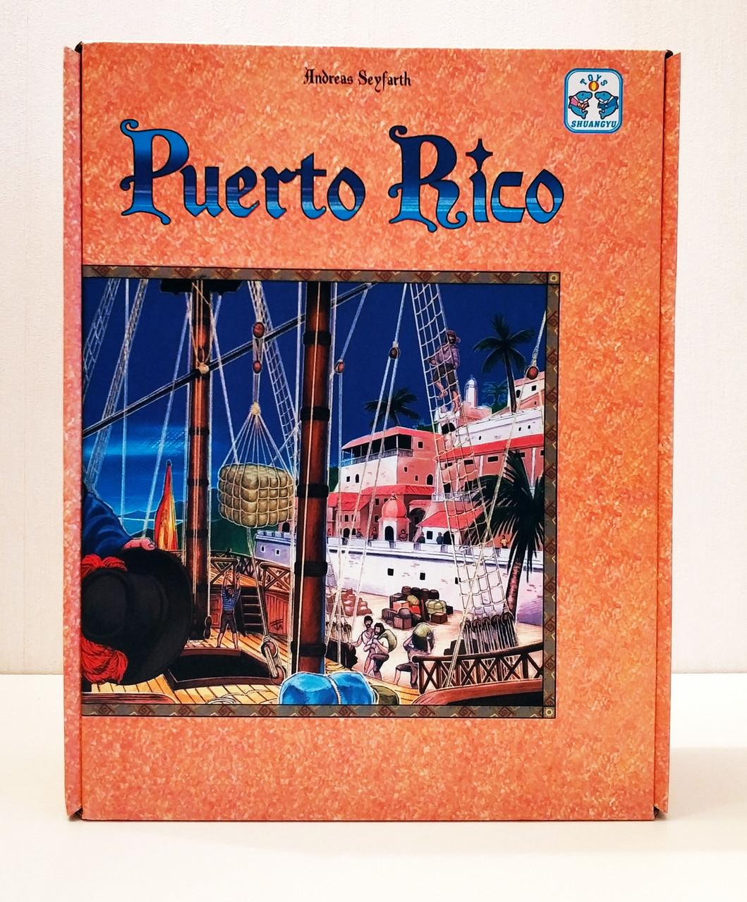 Настольная игра Puerto Rico (Пуэрто-Рико)