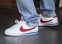 """Мужские кроссовки Nike Classic Cortez Leather """"Forrest Gump"""" 749571-154 Оригинал, фото 3"""