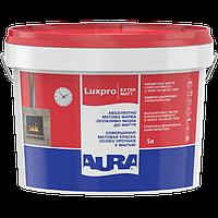 Моющаяся краска для стен и потолка Aura Luxpro Extramatt 5 л