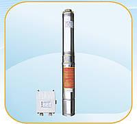 Насос скважинный с повышенной устойчивостью к песку Optima 4SDm 3/18 1.5 кВт 134м + пульт