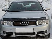 Дефлектор капота (мухобойка) AUDI A4 (кузов 8Е,В6) с 2001-2005 г.в.