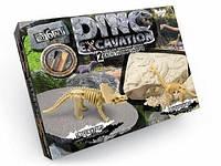 """Детский набор  для проведенния розкопок """"DINO EXCAVATION"""" динозавры укр., Danko Toys"""