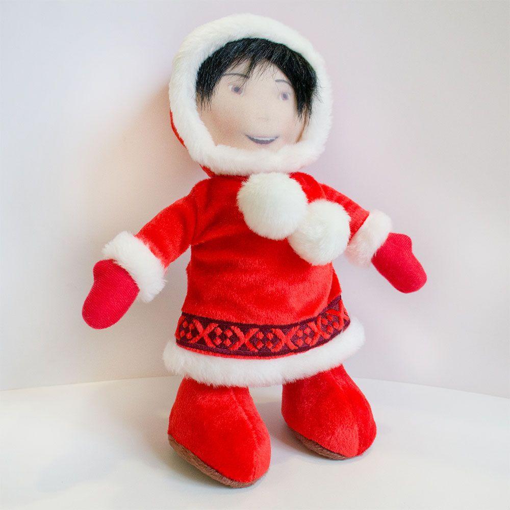 М'яка іграшка Zolushka Снігуронька 29см (270)