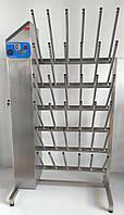 Сушка сапог 18 пар односторонняя из нержавеющей стали, фото 1