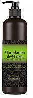 Поживний Шампунь з маслом макадамії Argan De Luxe Professional Macadamia Nourishing Shampoo, 1000 ml