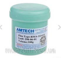 13-11-055. Флюс-гель RMA-223-UV, в банка 100г,  Amtech