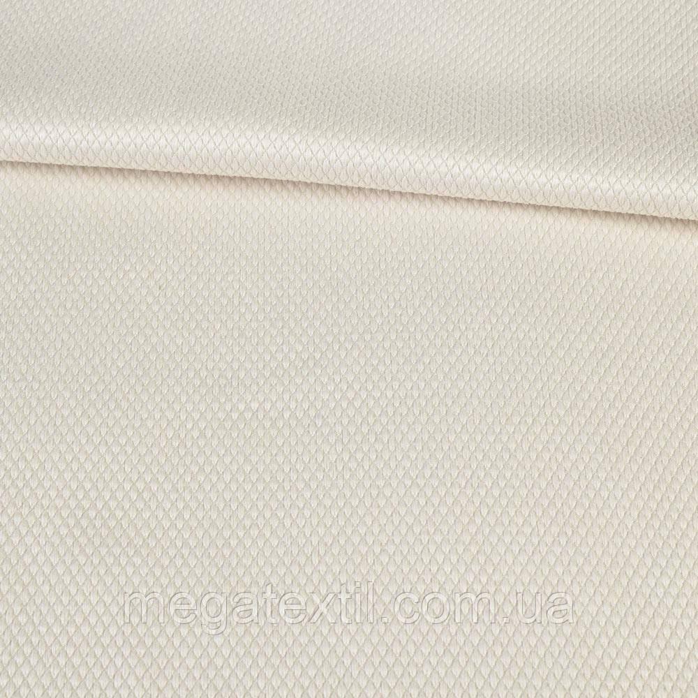 Рогожка деко інтер'єрна біла, ш.160 (33000.003)
