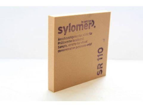 Sylomer SR 110 коричневый Предельная статическая нагрузка 0.110 Н/мм2, фото 2