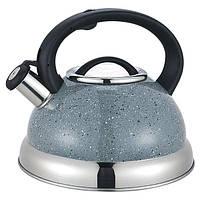 Чайник 3.0 л со свистком MR-1313C