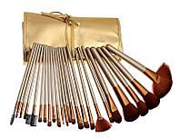 Набор кистей в золотом чехле Naked, фото 1