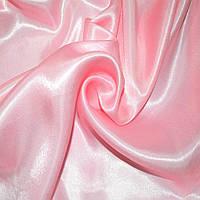 Атлас портьєрний рожевий ш.280 (33602.067)