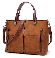 Женская ручная наплечная сумка Tinkin