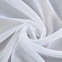 Вуаль гладкая белая ш.300