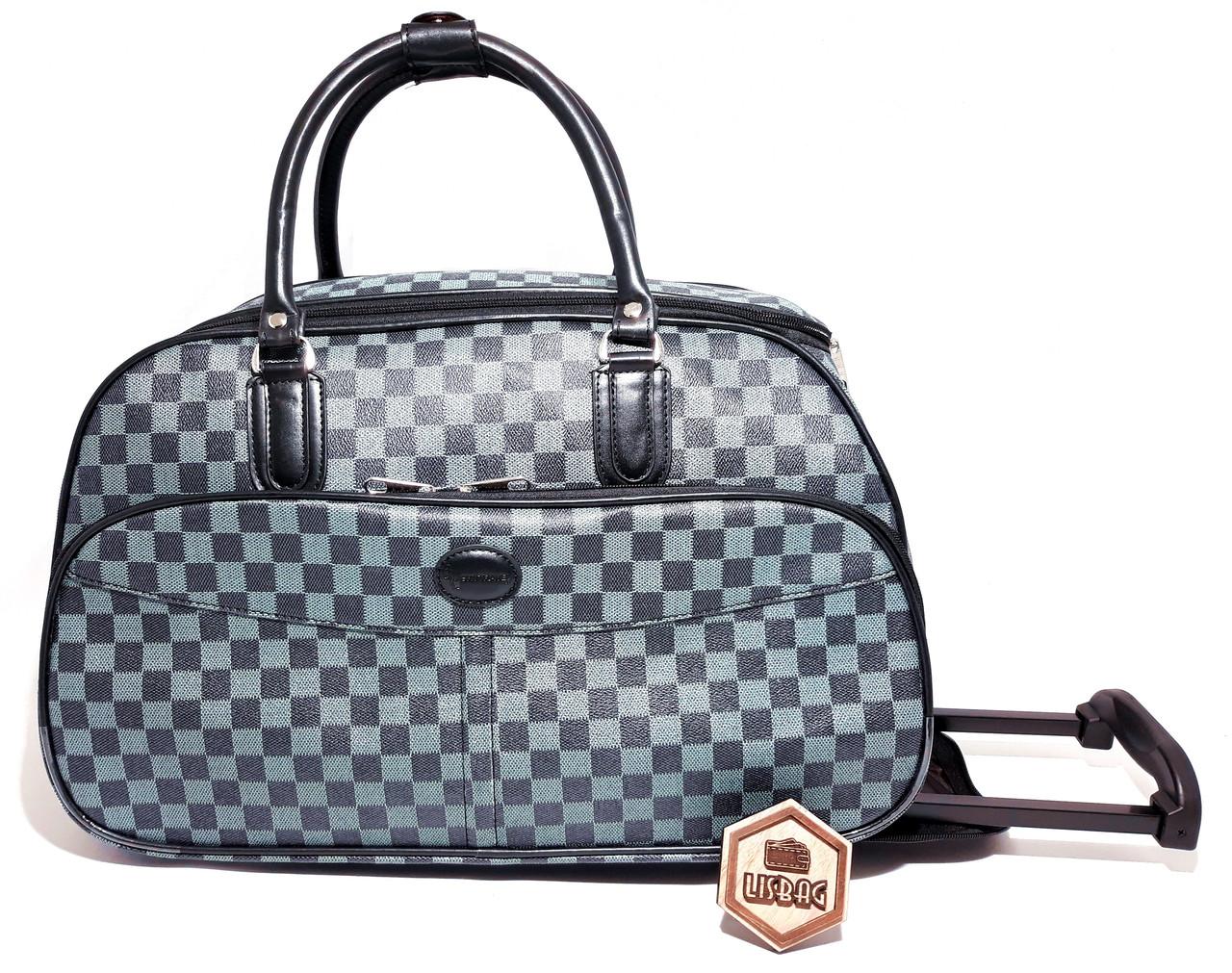234ea5fae74d Сумка на колесах Большая XL Голубая (59*31*38) чемодан дорожная сумка