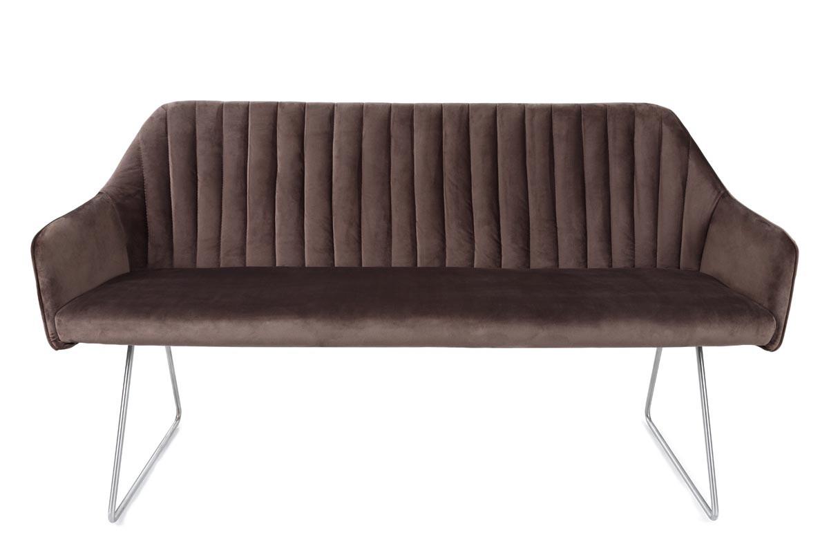 Кресло - банкетка Benavente (Бенавенте) мокко от Niсolas, велюр