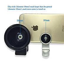 Объектив для iPhone  6 / 6s / 6 Plus / 5s и других телефонов, фото 2