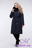 Пальто женское стеганное больших размеров (р. 44-60) арт. Фелиция 2