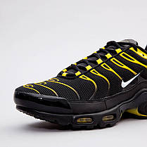 Мужские кроссовки Nike Air Max Plus Black/Yellow 852630-020, оригинал, фото 3